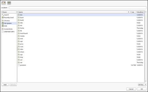 Chrome OS Upload