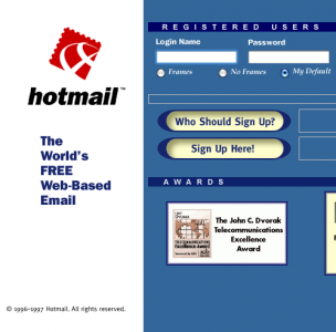 9 hotmail for 400m to 500m estimated