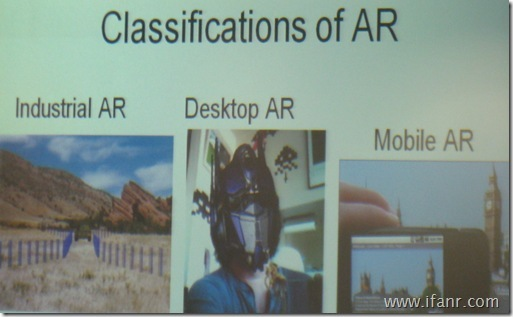 Classifications of AR