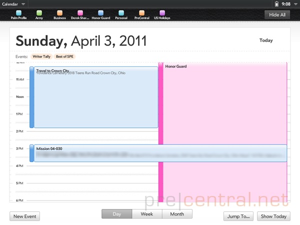touchpad-emulator-calendar-day