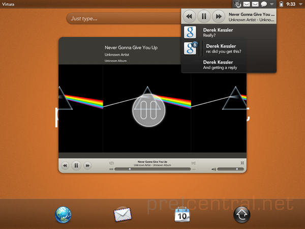 touchpad-emulator-music-dashboard