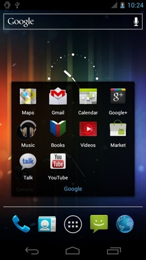 Android 4.0 p9 folder