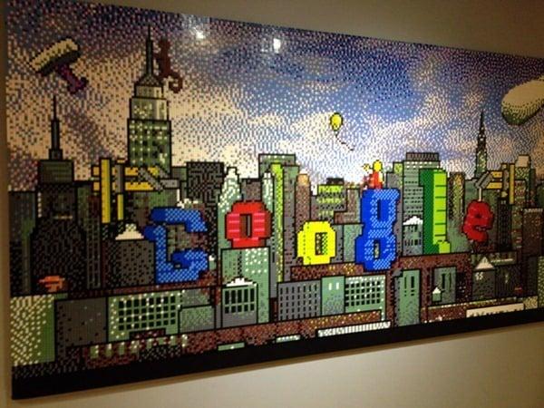 Google LEGO NYC