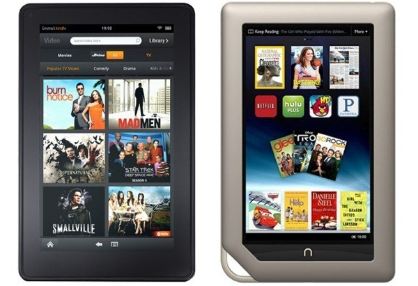 Kindle Fire and NOOK Tablet