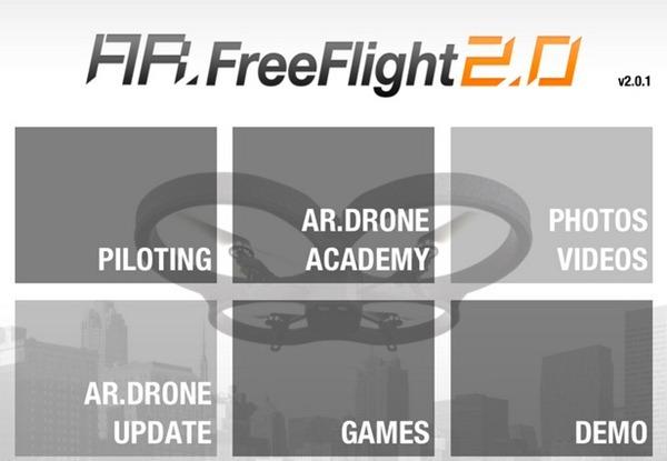 AR Drone 2 Freeflight 2