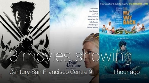 Three Movies Showing Now