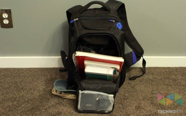 TYLT-Energi-Backpack-with-books