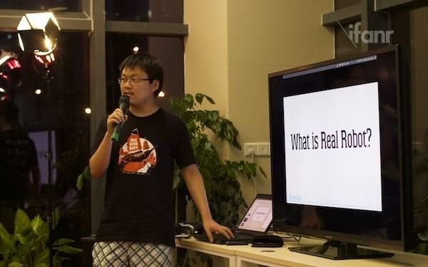 NExT】张浩分享:如何制作一部机器人?