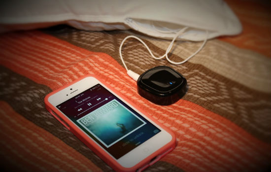 iMusic Bluetooth Pillow Adapter iPhone 5