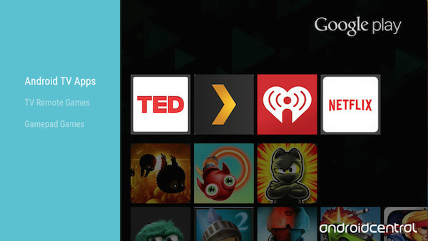 Android TV Play Store