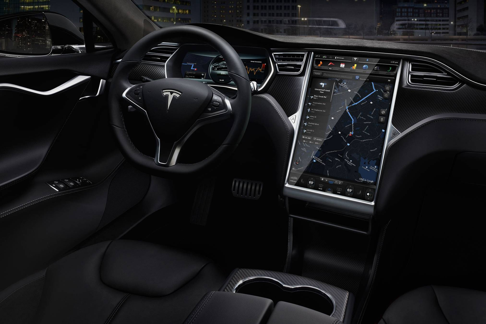 Tesla Contol Screen