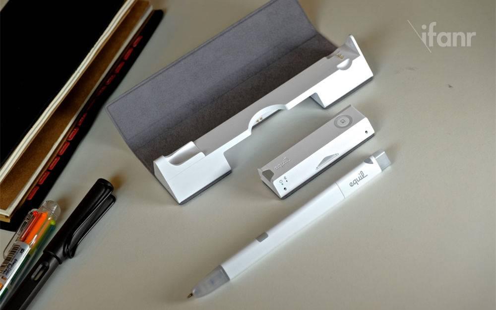 【范 Gadget】Equil 智能笔:真实的笔,虚拟地记