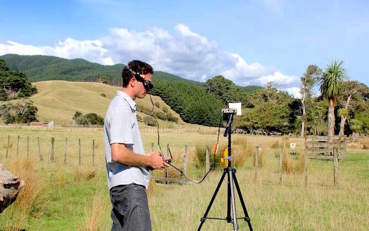 goggles drone sheep
