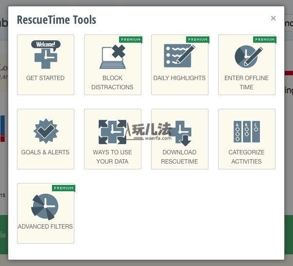 rescuetime20tools20menu