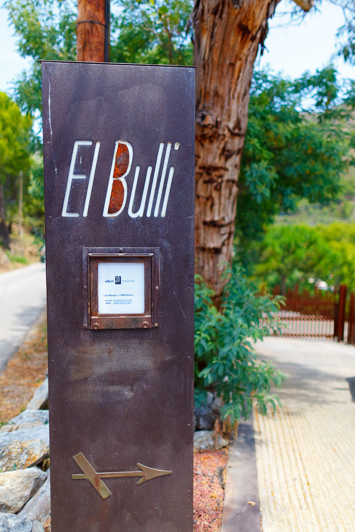 Roadsign+for+El+Bullí.+I+think+we're+in+the+right+place.