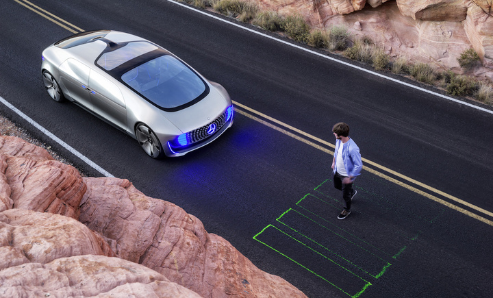 Mercedes-Benz Self Driving Car