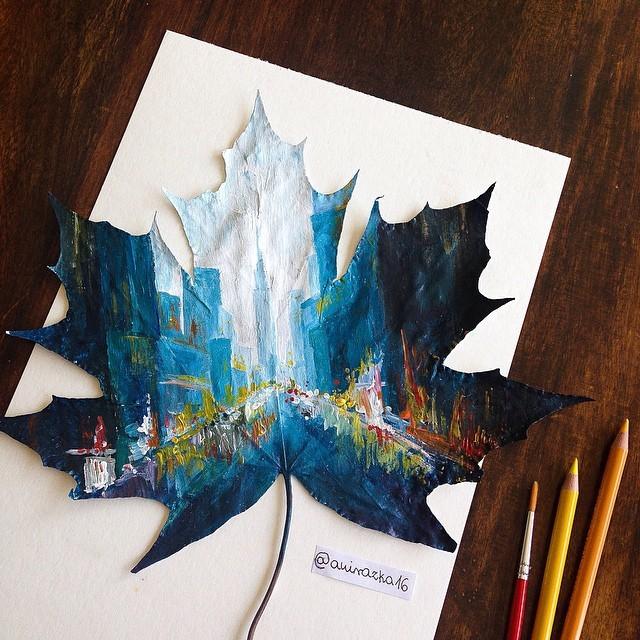 autumn-leaves-paintings-joanna-wirazka-5