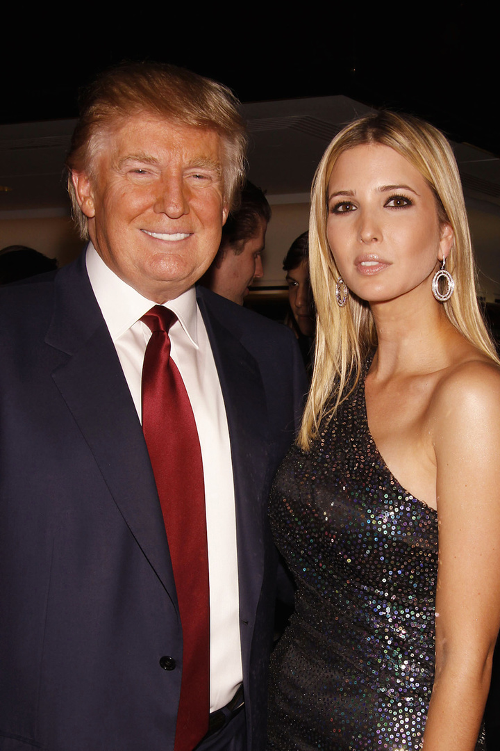 Donald Trump and Ivanka Trump Party for Ivanka Trump's new book 'The Trump Card: Playing To Win In Work And Life' at Trump Tower Featuring: Donald Trump and Ivanka Trump Where: New York City, United States When: 14 Oct 2009 Credit: WENN