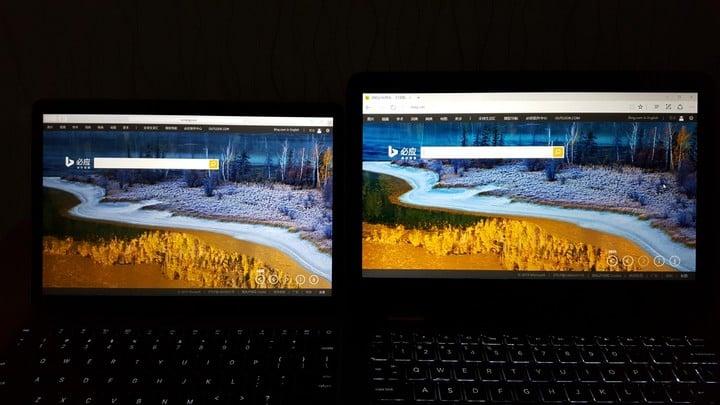 HP Spectre x360 screen