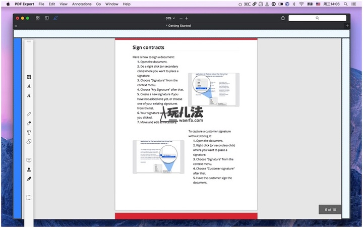 PDF Expert for Mac move annotate position_shrink