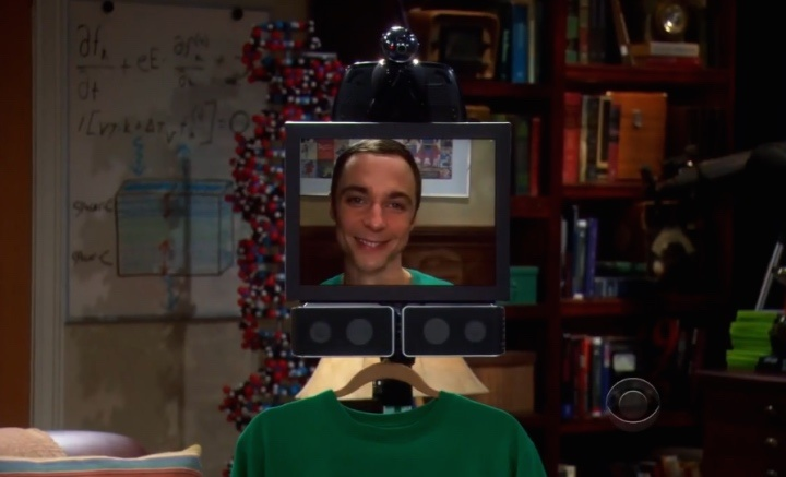 sheldon cooper machine