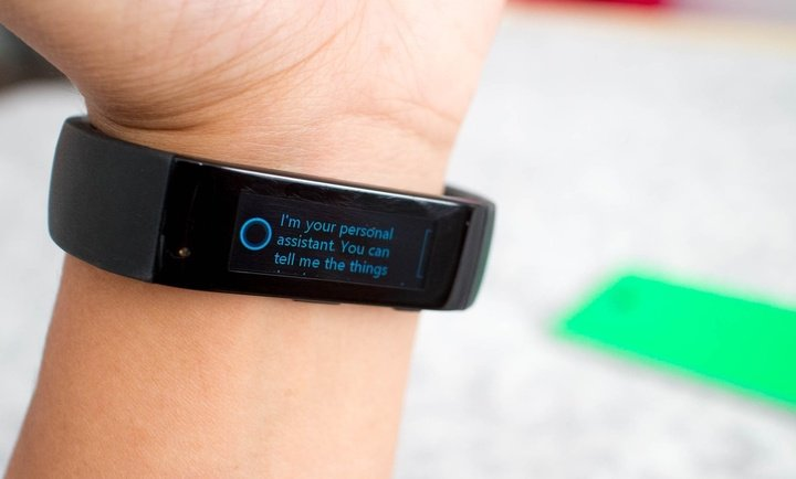 microsoft band cortana