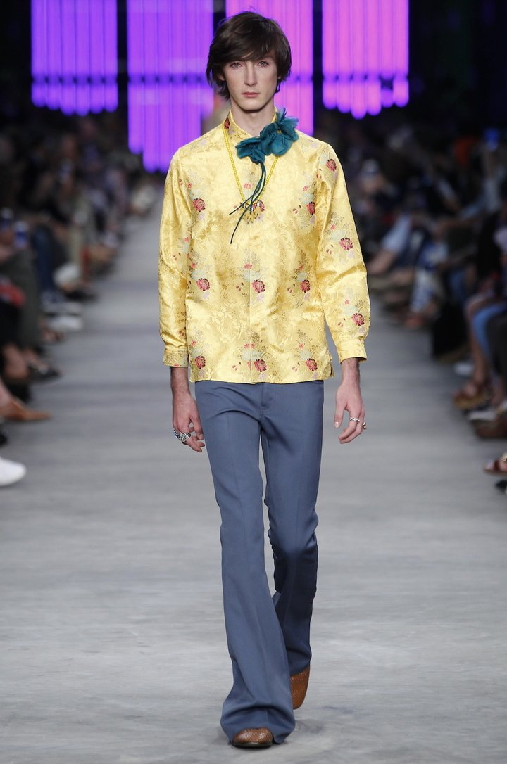 Gucci 2016 SS Fashion Show Men's Look_2
