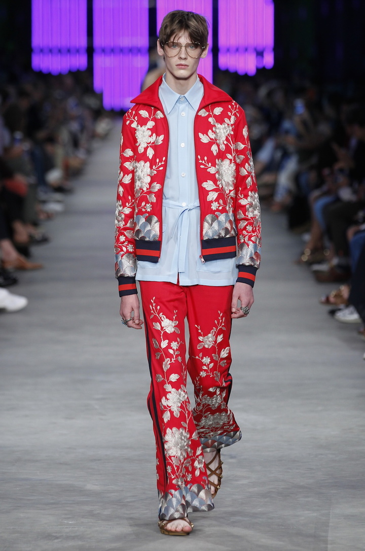 Gucci 2016 SS Fashion Show Men's Look_4