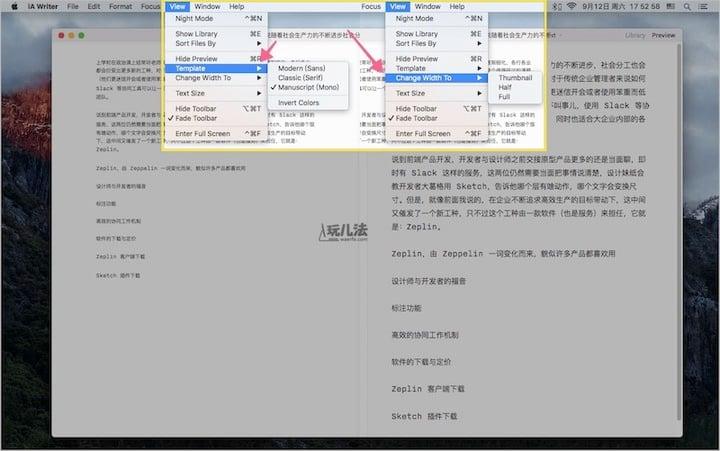 iawriter3iA Writer 3 for Mac screen 2