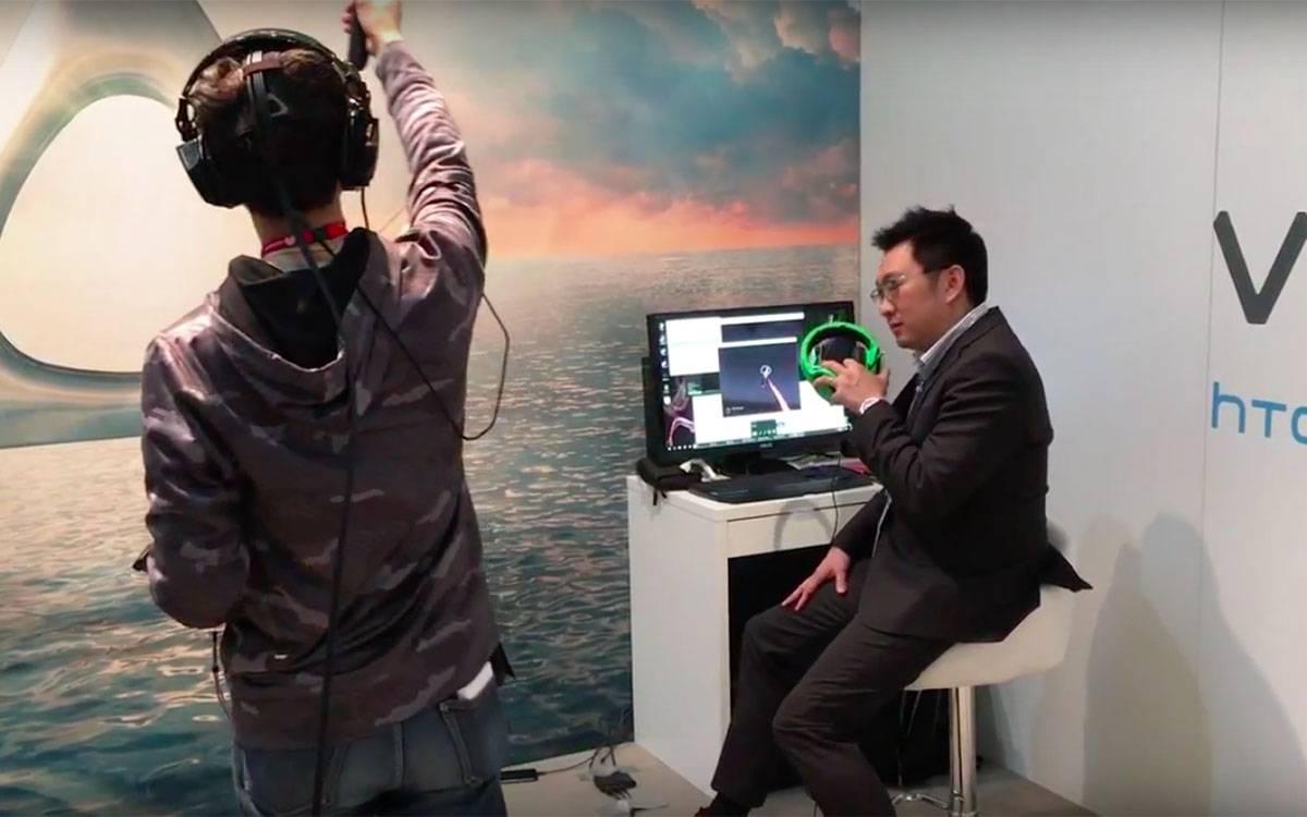 【MWC 2016 现场】王雪红:你要花钱,你才有真正的虚拟世界