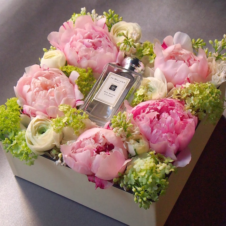 Peony box for online