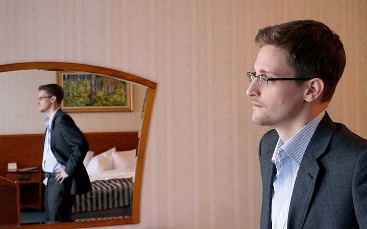 Edward Snowden Gives First Interview In Russia