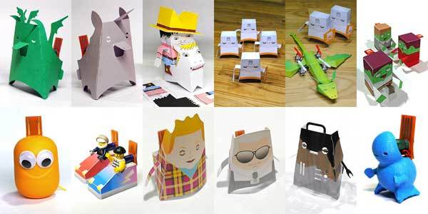 Crafty-Robot-Paper-Toys