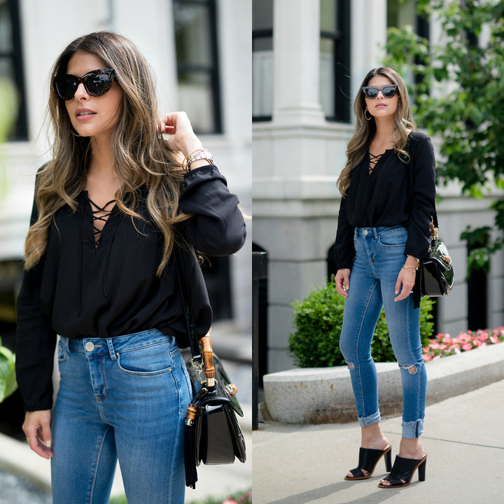 Lace_up_front_top_banana_republic_mules_asos_high_waist_pants_lookbook