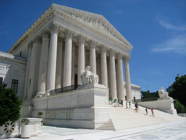 Supreme Court of the United States Oblique_facade_1,_US_Supreme_Court