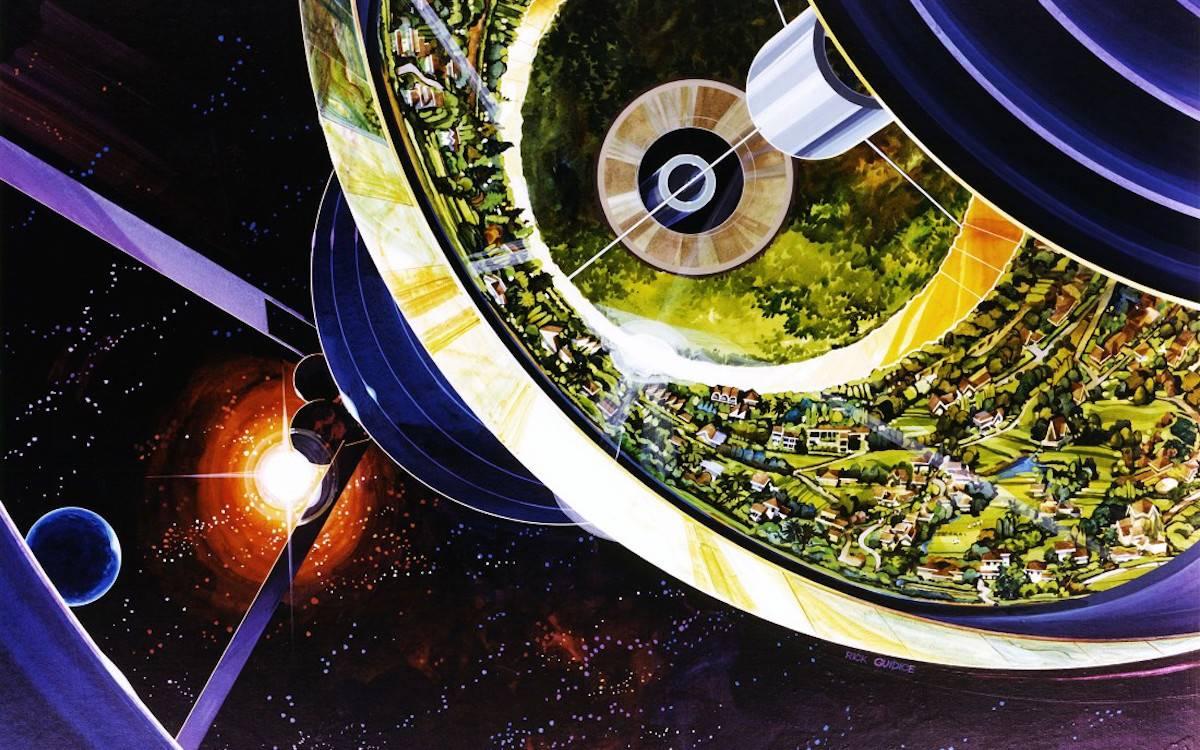 来自 1975 年,一份 NASA 的未来星际生存报告