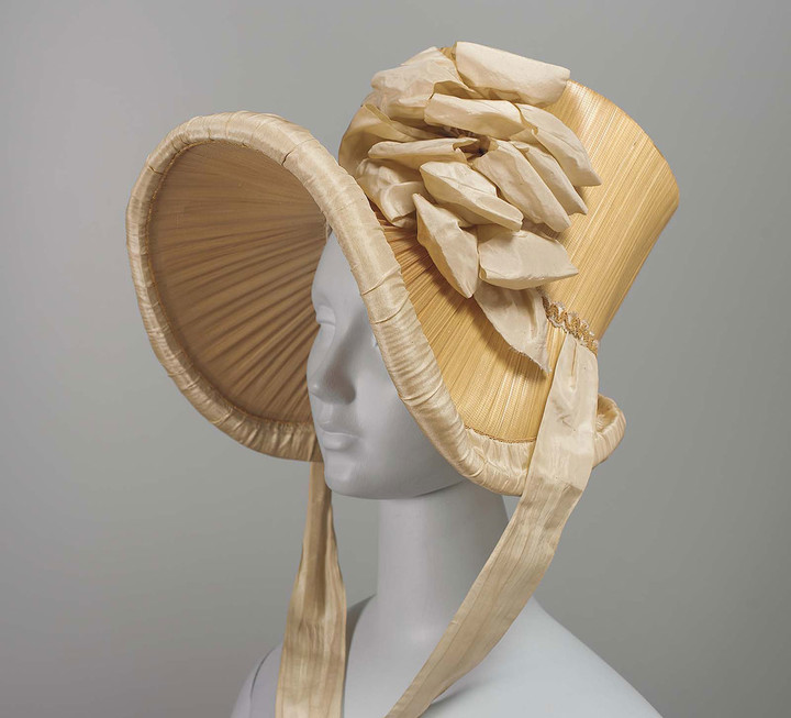 Mary-Dixon-Kies-styled-woven-hat-front-1815-CourtesyMuseum-Fine-Arts-Boston