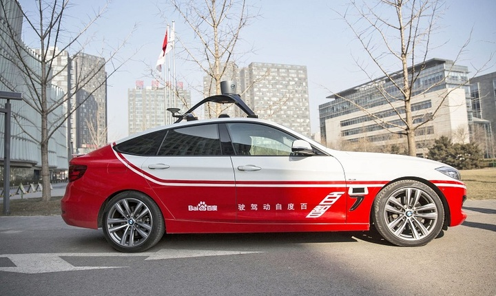 baidu intelligent car