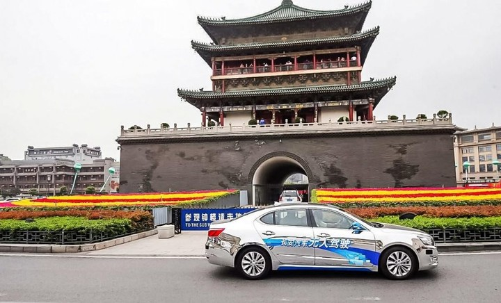 changan self driving car