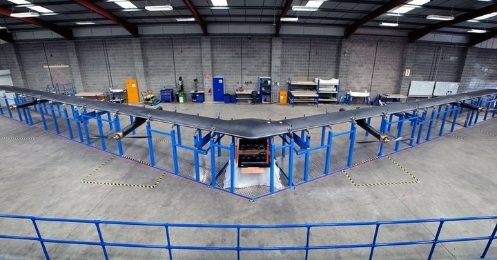 facebook drone is building