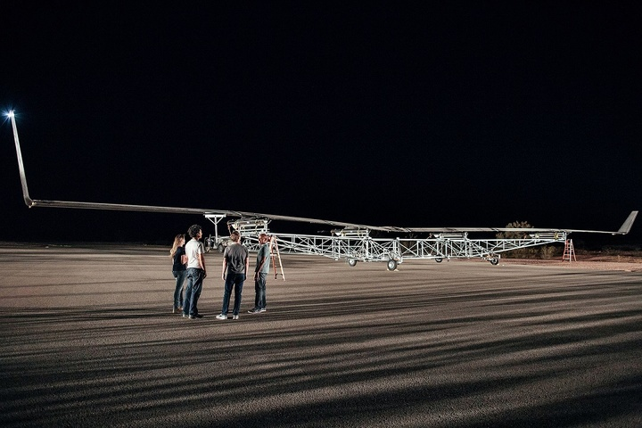 facebook drone ready to take off