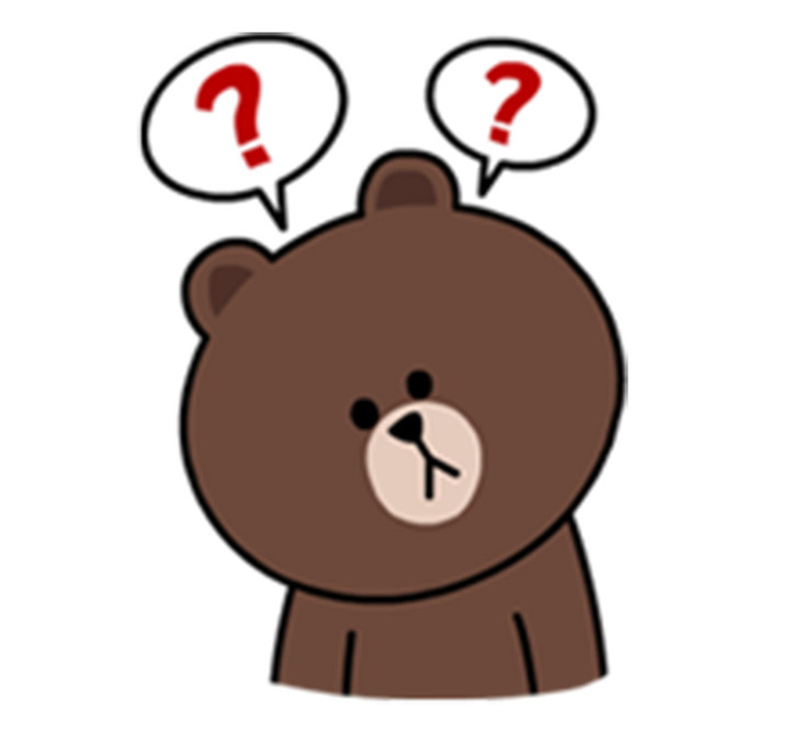 line-friends-brown