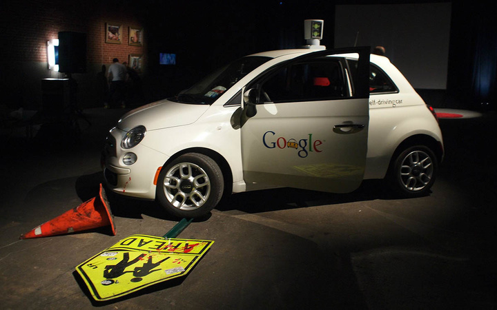 Google car crash