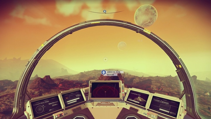 No Mans Sky flying