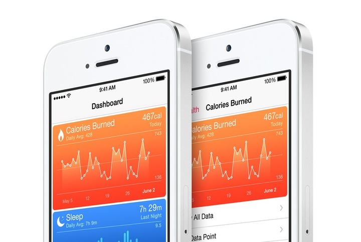 apple healthkit screens