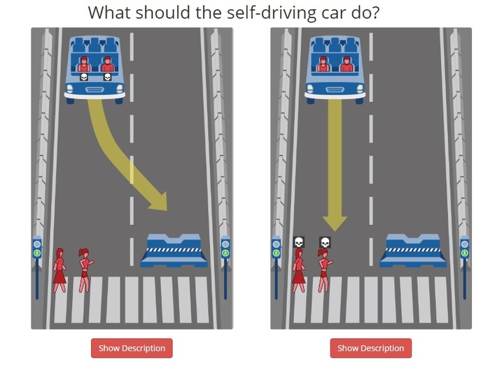 self driving car sexist