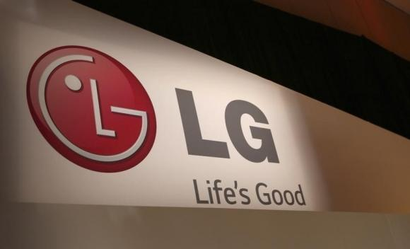 LG company logo is seen following an event during the annual Consumer Electronics Show in Las Vegas