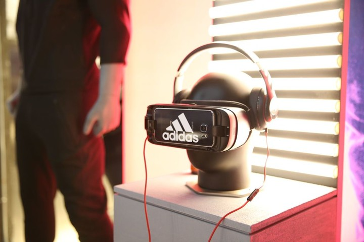 Mandatory Credit: Photo by Amy Sussman/REX/Shutterstock (7526902aw) Atmosphere adidas Flagship Preview Party, New York, USA - 29 Nov 2016
