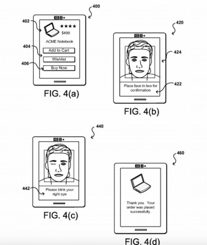 amazon-patent-paybyselfie
