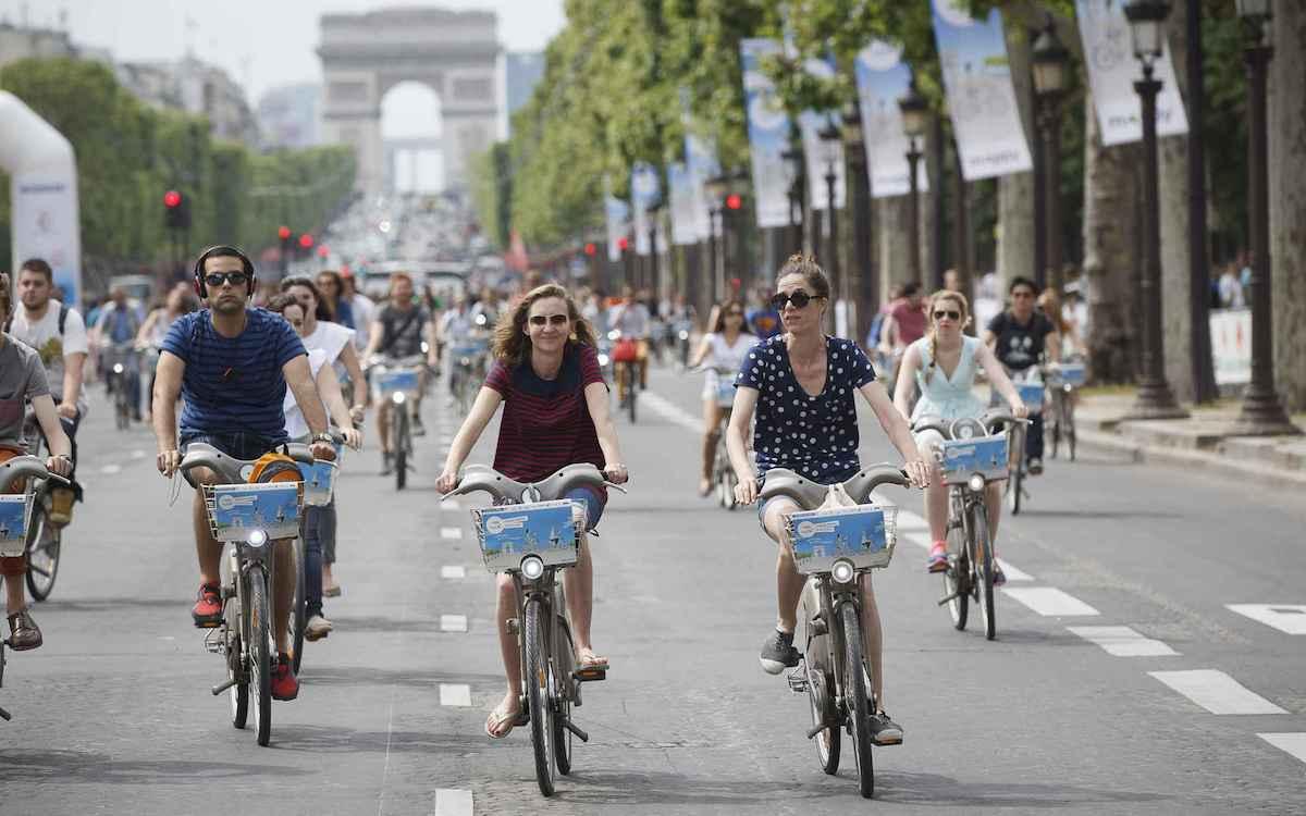 在中国改变交通的共享单车,在国外是怎样的?